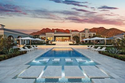 William Gallacher and Joanne Stansfield Home in Scottsdale