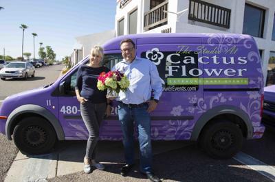 Cactus Flower Eric and Kristina Louma