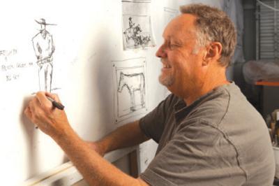 Artist Michael Swearngin