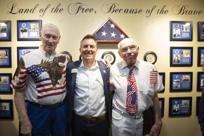 McDowell Village celebrates its Honor Wall