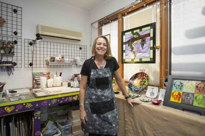 Lynn Gustafson the Camelback Studio Tour and Art Sale