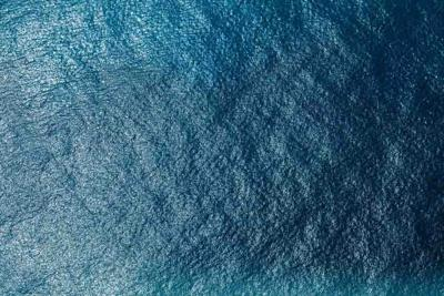 53538487 - sea surface aerial view