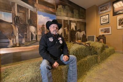 Dave Alford at Scottsdale Rodeo Museum