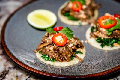 Restaurant Week marks 80 yummy years duck confit tacos The Mission Kierland