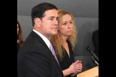 Gov. Doug Ducey state Health Director Cara Christ