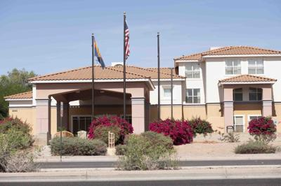 Homewood Suites property at Scottsdale Road and Mountain View