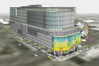 Developer seeks taller Galleria office building
