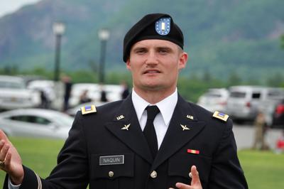 Notre Dame alum now a West Point grad Grayson Naquin