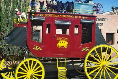 Scottsdale Old Town Horse and Carriage