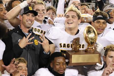Saguaro coach Jason Mohns