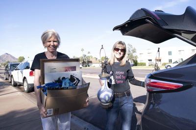 Arizona Small Dog Rescue volunteers Leslie Tweeton and Cheryl Miller