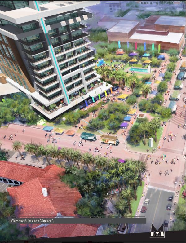 Museam Square Hotels Scottsdale Arizona Controversial project