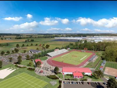Whippet athletic facility rendering