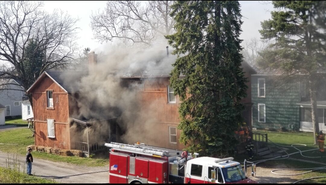 Photo gallery: fire at Shelby apartment building