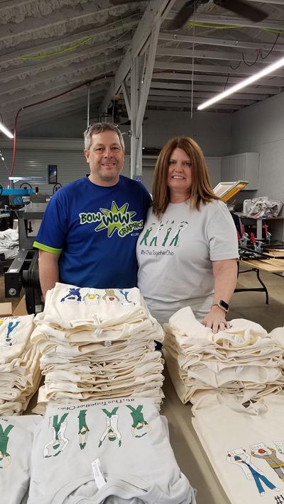 Mike and Charlene Bower of Bow Wow Graphics