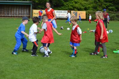 Registration for soccer camp