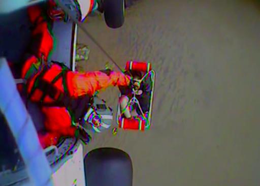 Coast Guard rescues man stranded at Hug Point