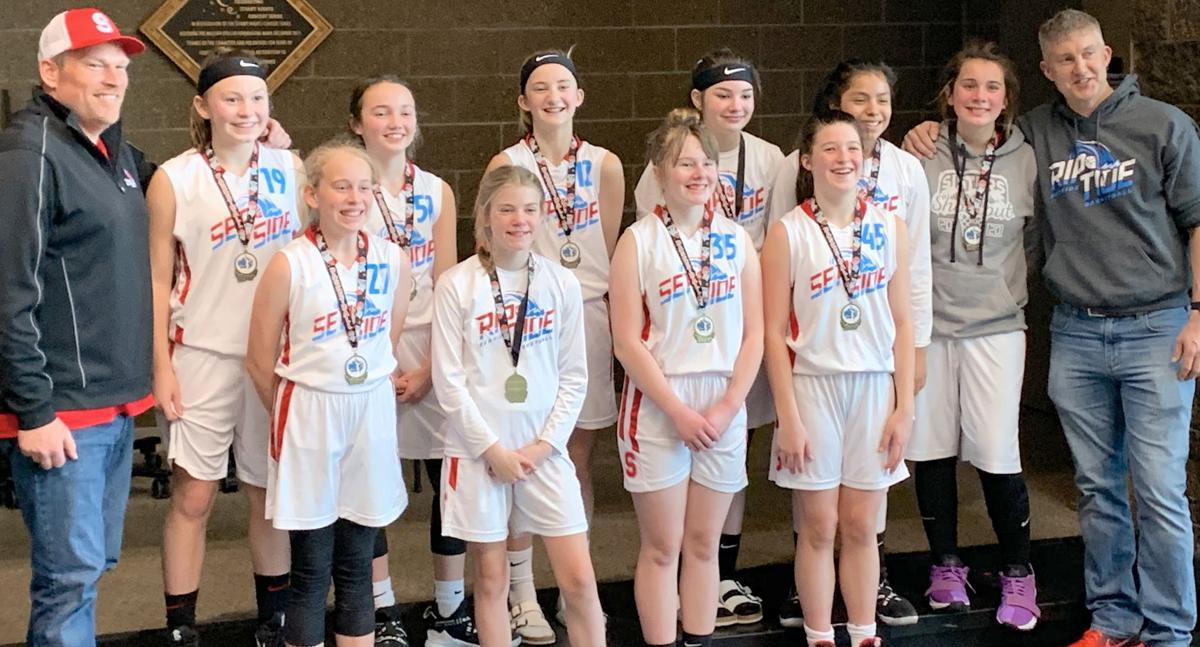 Riptide girls basketball team