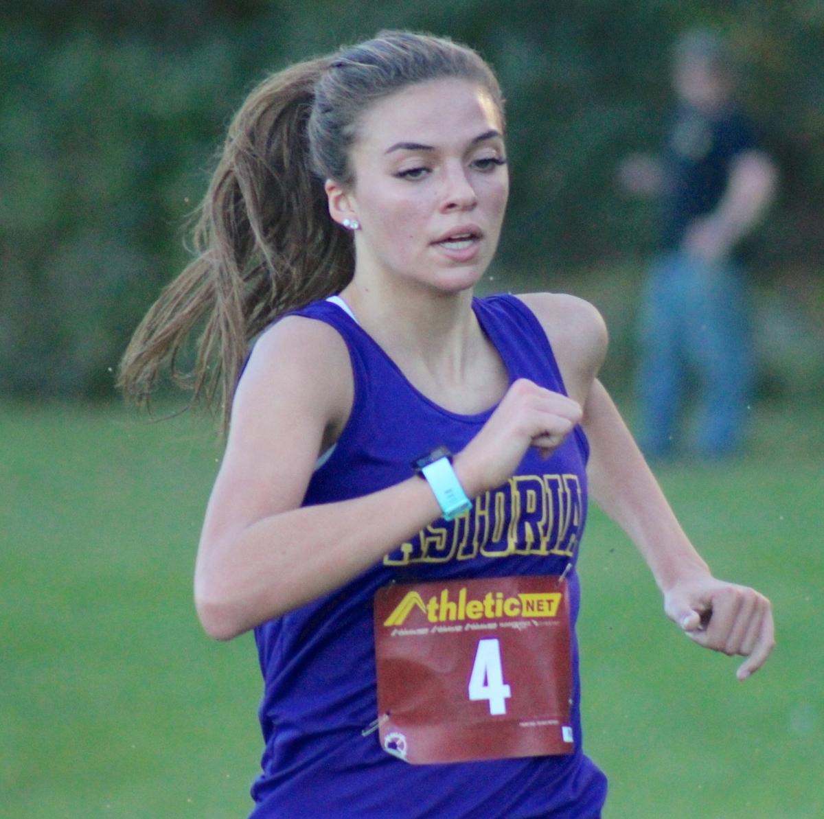 Astoria runner Sophie Long