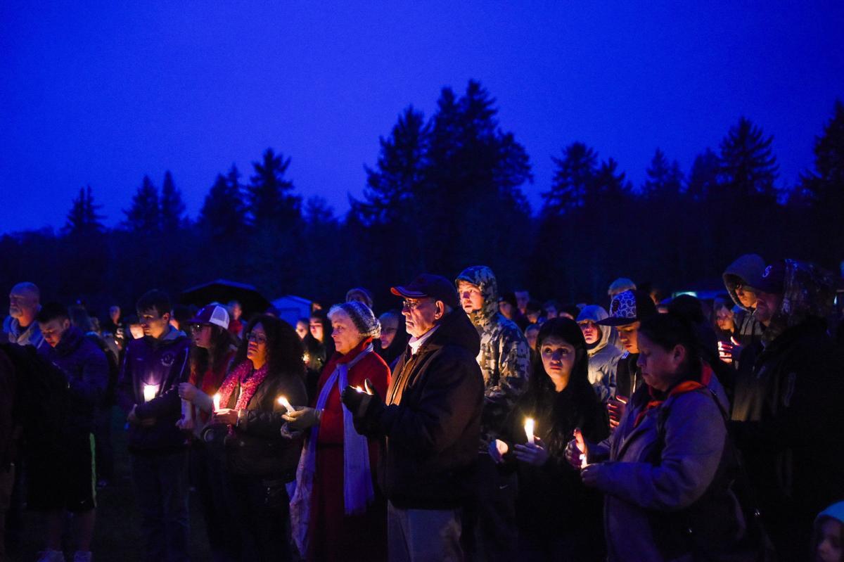 Vigil marks teen's tragic death