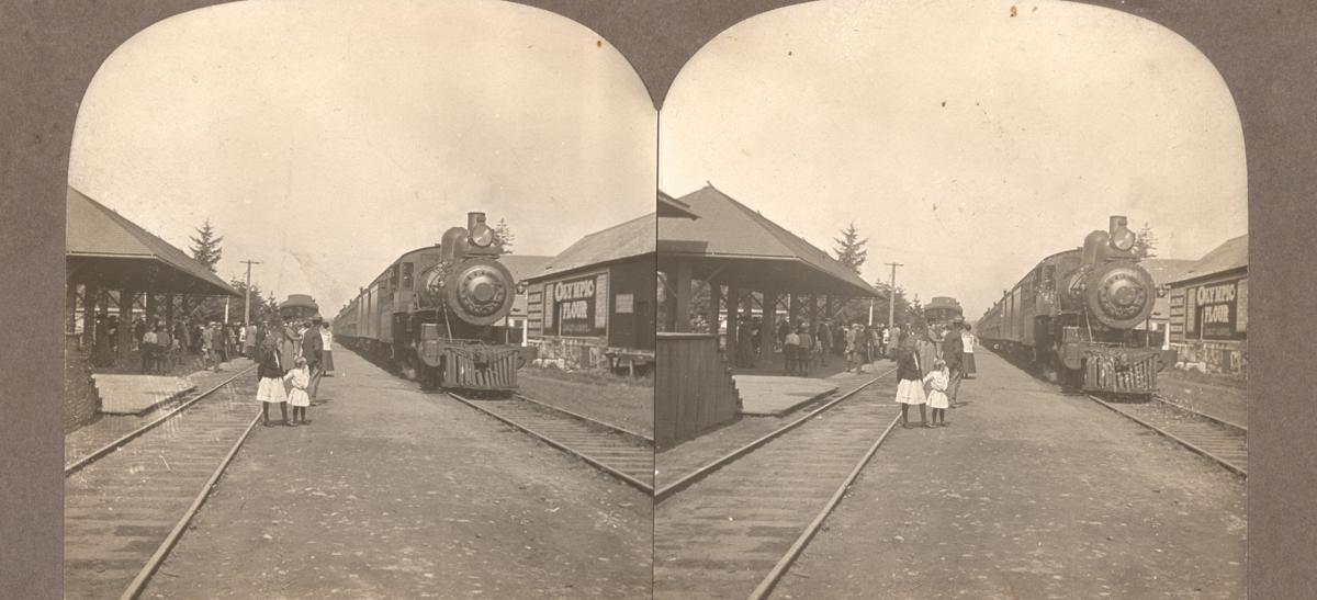 Seaside Station, circa 1915