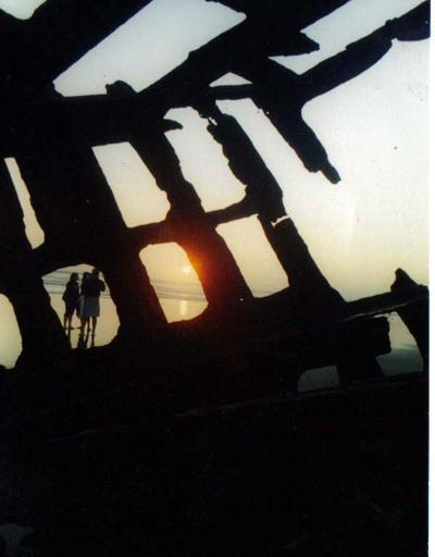 Peter Iredale captured in photography by Susan Romersa
