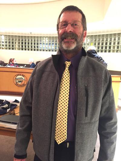 Holt is city's longest-serving employee