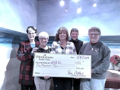 Seaside AAUW receives scholarship donation