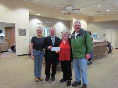 Providence Seaside donates $10,000 to South County Food Bank