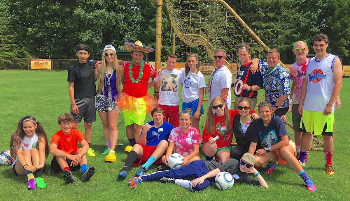 Camp kick-a-lot soccer camp