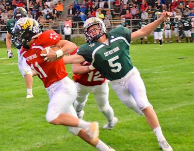 East rallies for win over West in Shrine game