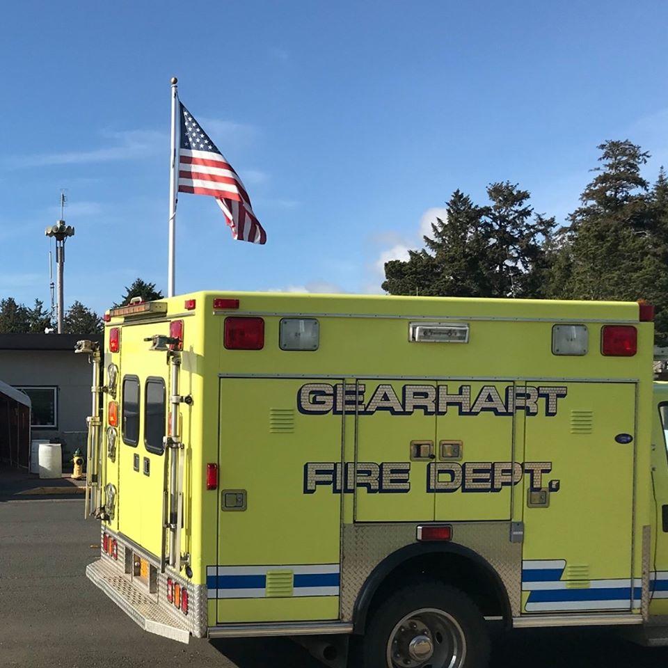 Gearhart fire