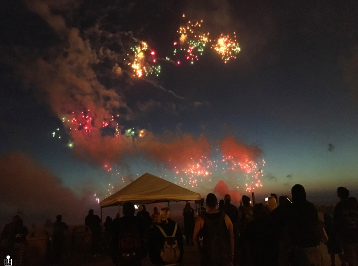 Can illegal fireworks be deterred in Seaside?