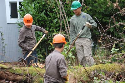 Youth corps' program provides educational outdoor work experience