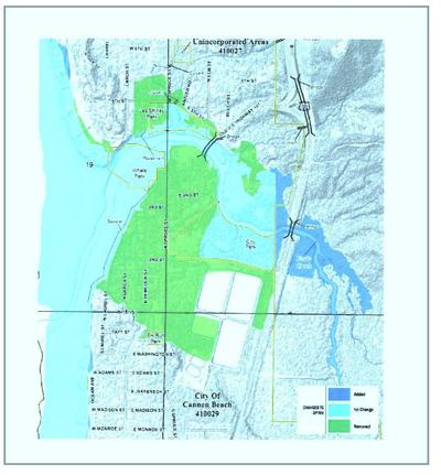 Cannon Beach goes its own way on flood mapping