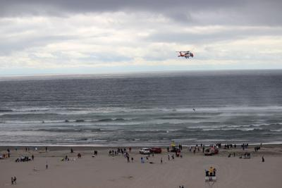 One dead, one rescued from ocean in Seaside