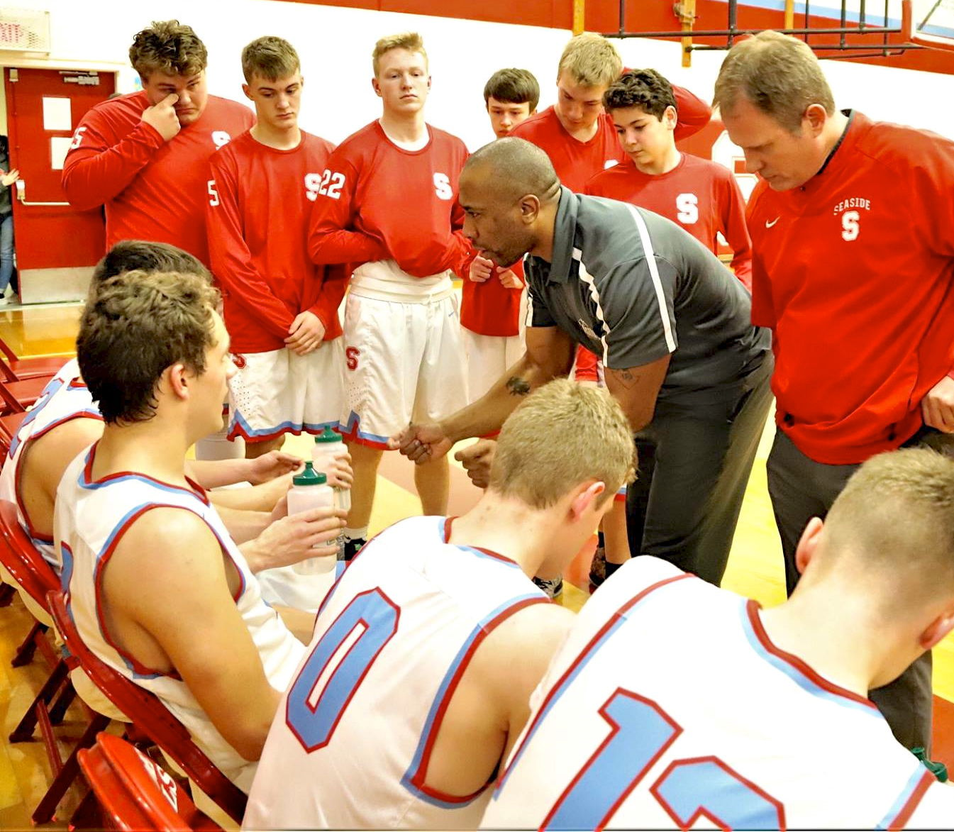 Seaside assistant coach Nick Smith