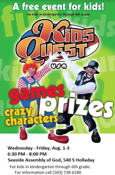 Kids Quest comes to Seaside