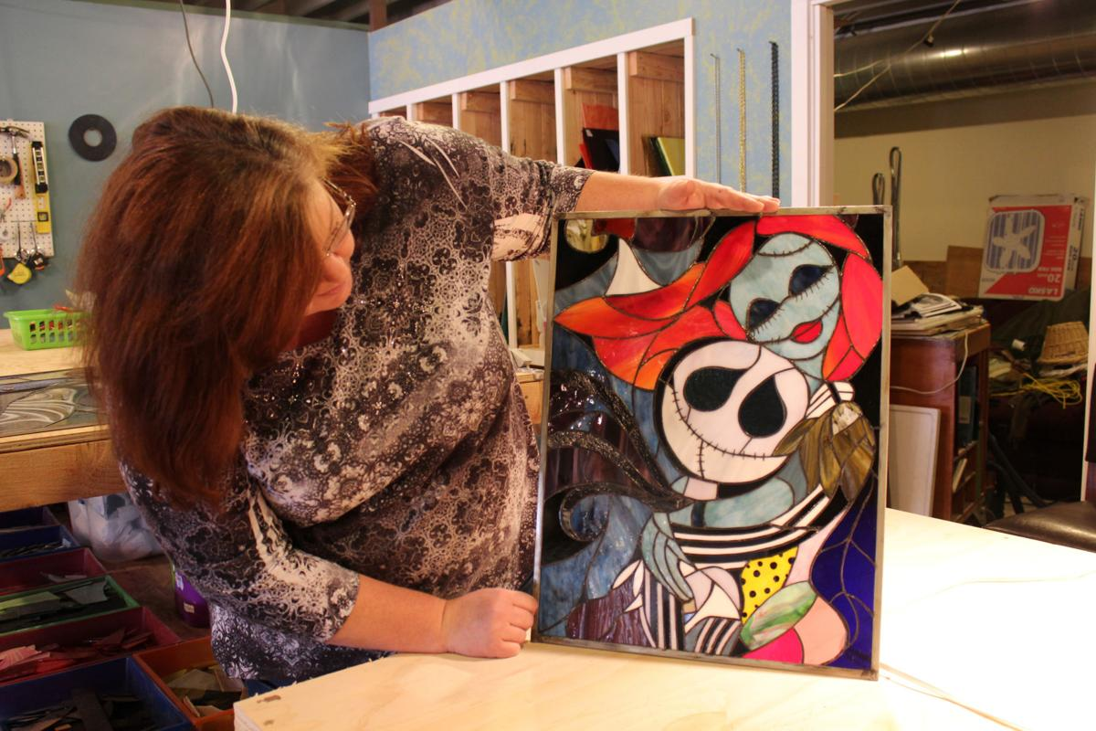 Stained glass artist introduces new gallery in Seaside