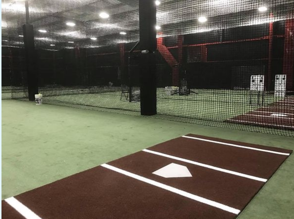Indoor batting facility