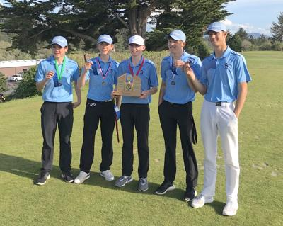 Seaside boys golf team
