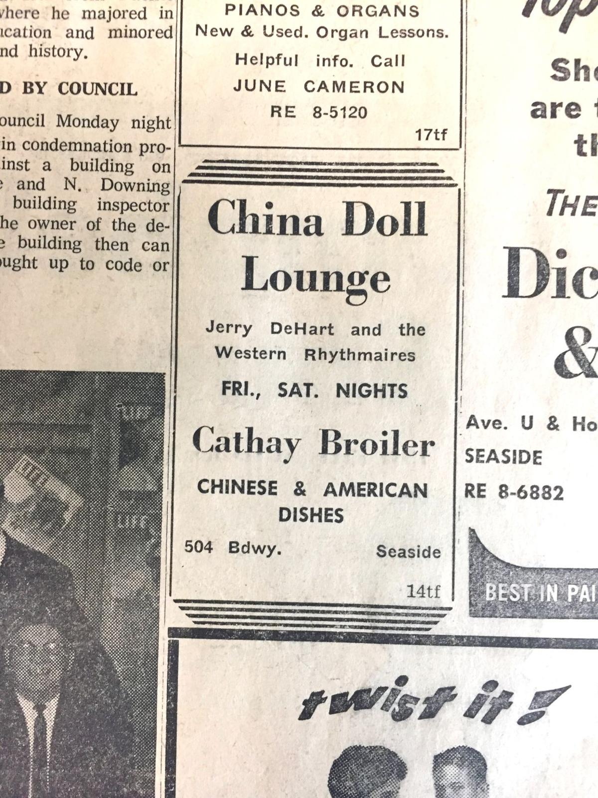 Live from the China Doll Lounge
