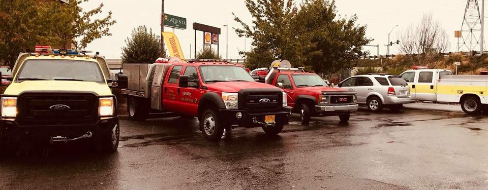Fighting fire with firefighters