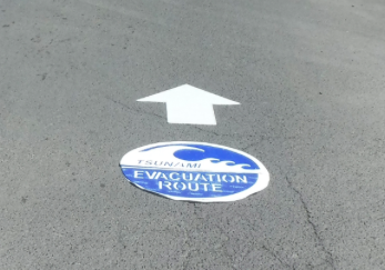 Tsunami marker