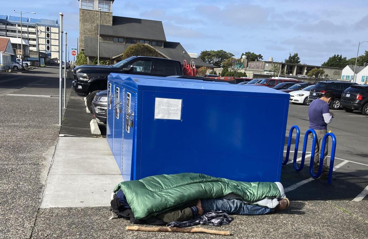 Seaside's homeless