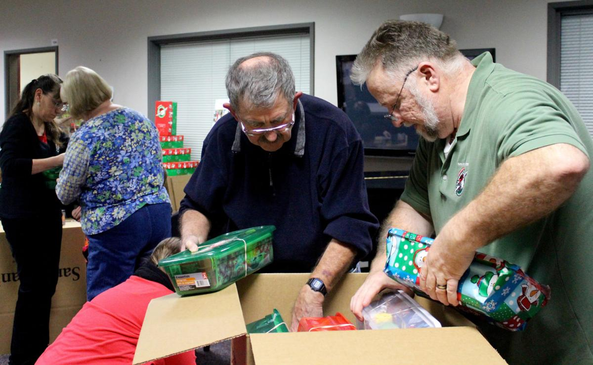 Holiday shoeboxes start across the globe