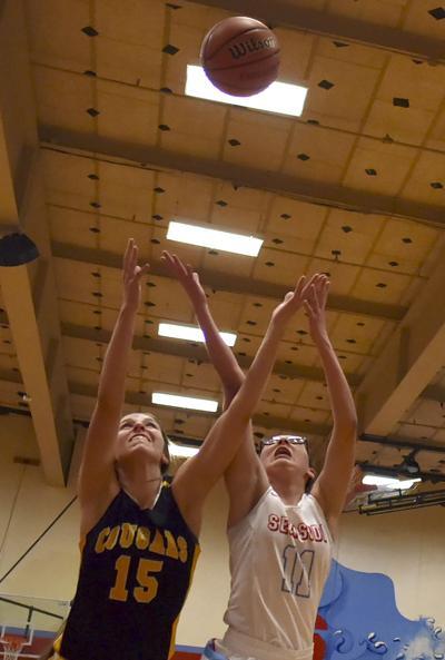 Girls basketball: Cascade clips Seaside, 56-24