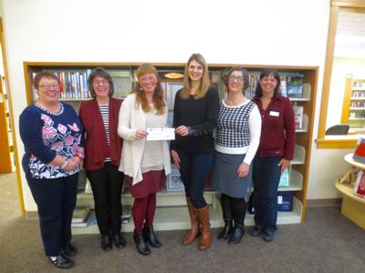 Pacific Power awards $3,000 to county library program