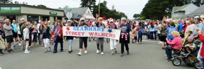 'Street Walkers' raise tsunami awareness