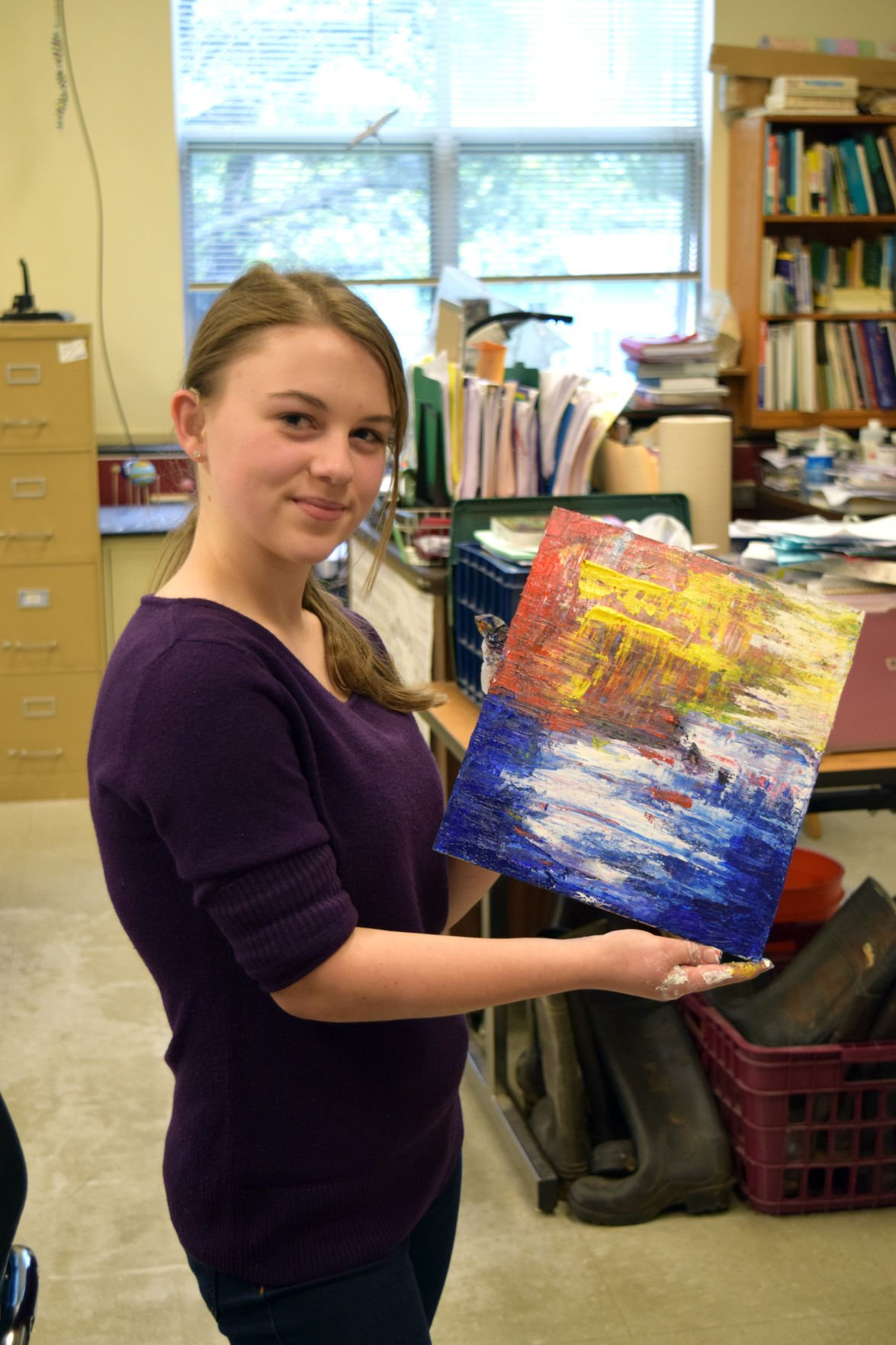 Student's efforts lead to first high school art day